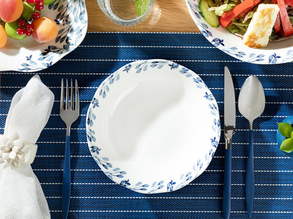 Clover Castron 20 cm Alb – Albastru 10032341001