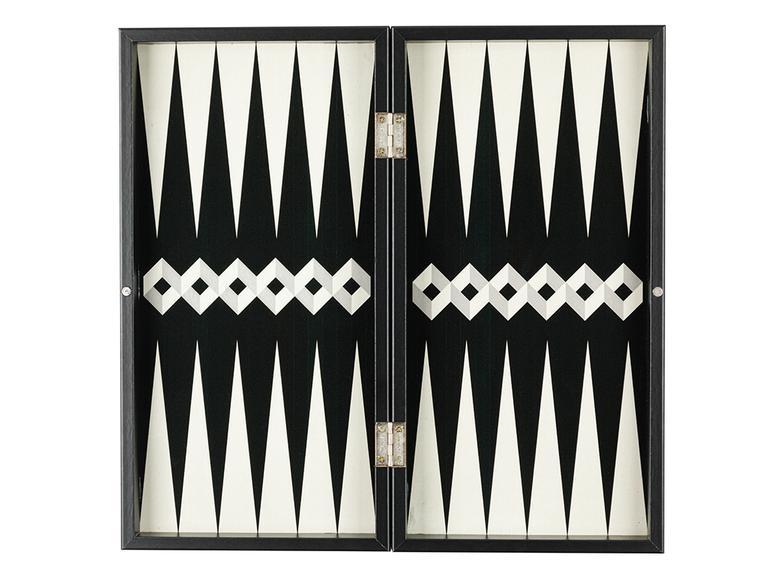 Cubic Tavla 43,5x22,5x6 Cm Siyah-bej