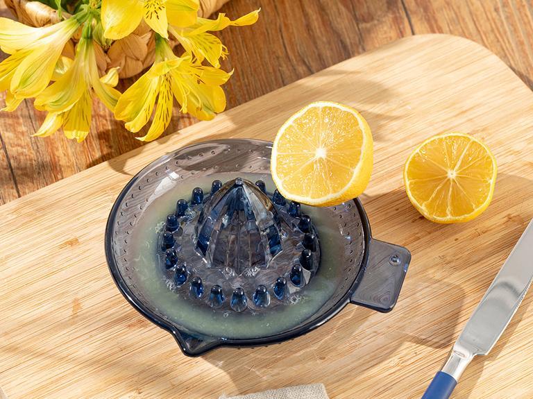 Casa Akrilik Limon Sıkacağı 13x15 Cm Lacivert
