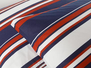 Boho Stripe Pamuklu 2'li Yastık Kılıfı 50x70 Cm Lacivert