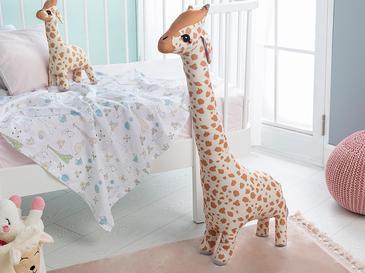 Giraffe   Dekoratıf Yastık 100x34 Bej
