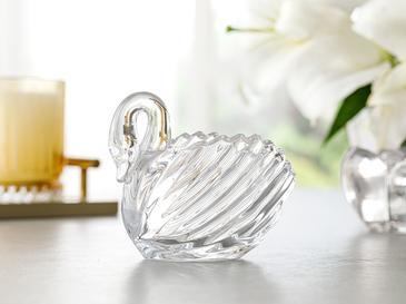 Swan Biblo 11.5x6.5x9.5cm Şeffaf