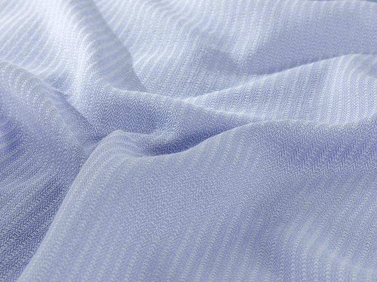 Cool Stripe Soft Touch Tek Kişilik Pike Seti 150x220 Cm Ortanca