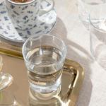 Hira Cam 6'lı Kahve Yanı Su Bardağı 120 Ml Şeffaf