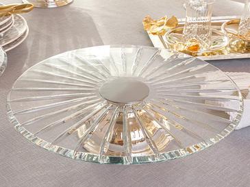 Silvery Gümüş Kaplama Kek Standı 30 Cm Gümüş