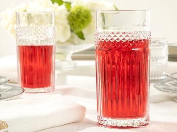 Fairy Cam 4'lü Meşrubat Bardağı 360 Ml Şeffaf