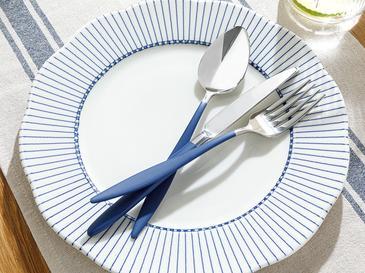 Eloise 18/10 Paslanmaz Çelik 18 Parça Yemek Çatal Kaşık Bıçak Tk. 18 Parça Silver