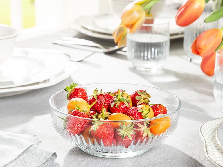 Roso Cam Salata Kasesi 1500 Ml Şeffaf