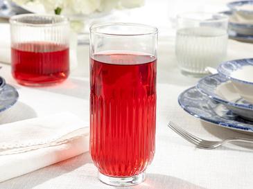 Roso Cam 3'lü Meşrubat Bardağı 395 Ml Şeffaf