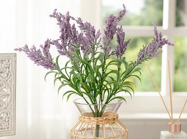 Bouquet Tek Dal Yapay Çiçek 43 Cm Mor