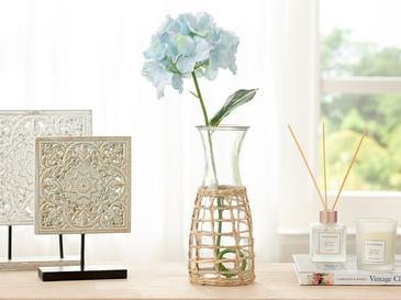 Hortensia Tek Dal Yapay Çiçek 70 Cm Mavi
