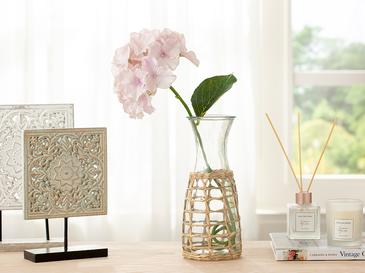 Hortensia Tek Dal Yapay Çiçek 70 Cm Pembe