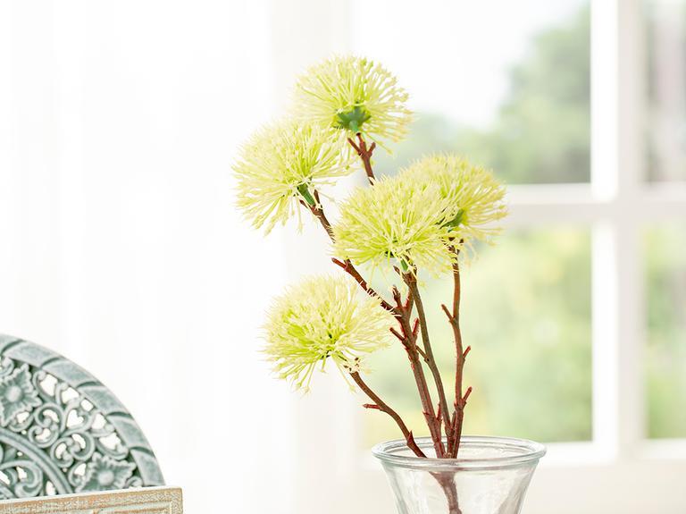 Dandelion Tek Dal Yapay Çiçek 52 Cm Yeşil