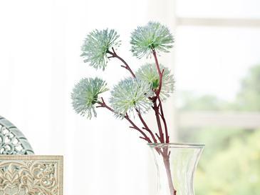 Dandelion Tek Dal Yapay Çiçek 52 Cm Mavi