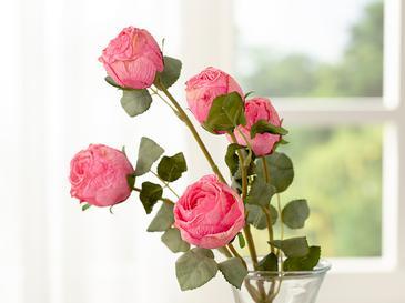 Rose Bouquet Tek Dal Yapay Çiçek 61 Cm Pembe