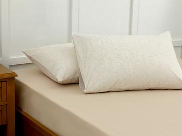 Lace Dream Pamuklu 2'li Yastık Kılıfı 50x70 Cm Bej