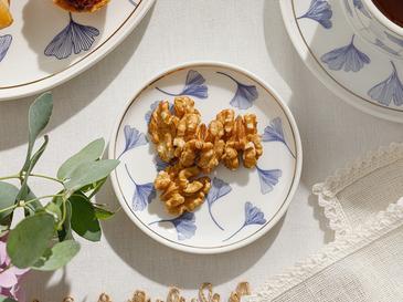 Gingko Biloba New Bone Çerezlik 10 Cm Lacivert-beyaz