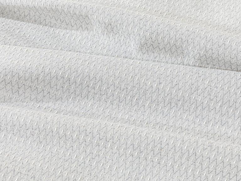 Trios İpliği Boyalı Çift Kişilik Pike 200x220 Cm Gri