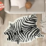 Tucan Desenli Post 150x200 Cm Siyah - Beyaz
