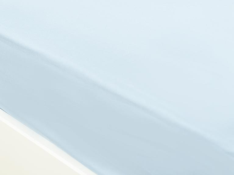 Düz Pamuklu Çift Kişilik Çarşaf 240x260 Cm Aqua