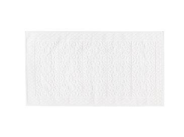 Bukle Pamuklu Kilim 60x100 Cm Beyaz