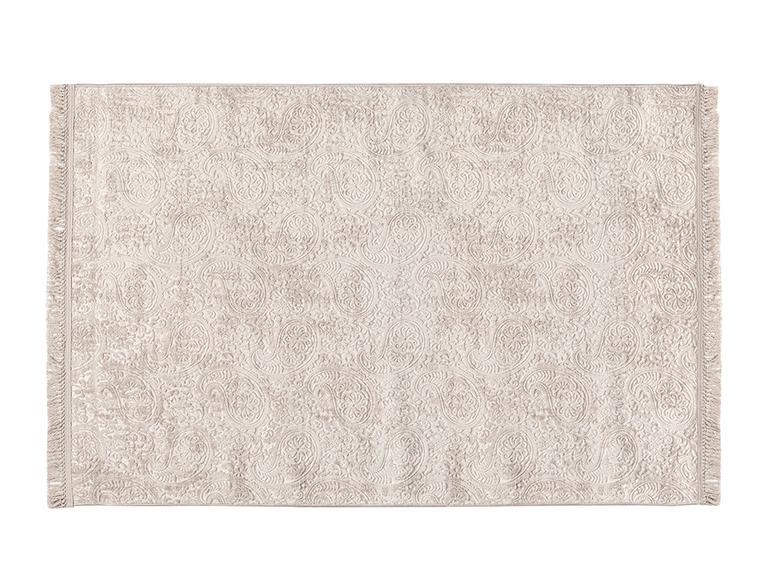 Şal Desen  Halı 80x150 Cm Vizon