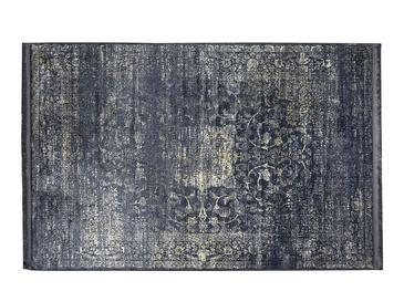 Silk Touch Tony Kadife Halı 120x180 Cm Lacivert