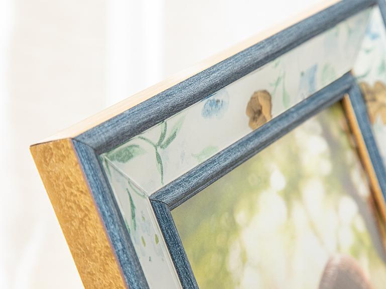 Floret Çerçeve 13x18 Cm Mavi