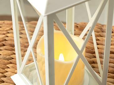 Andrea Ledli Fener 14x14x30 Cm Beyaz