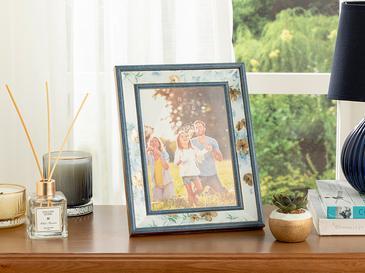 Floret Çerçeve 15x20 Cm Mavi