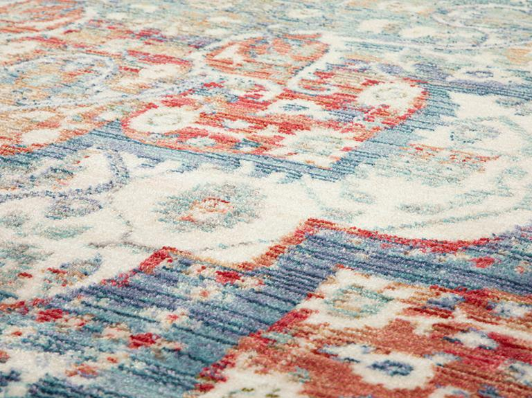 Nevana Dokuma Halı 160x220 Cm Mavi