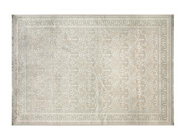 Roman Jakarlı Kadife Kaydırmaz Taban Halı 80x150 Cm Bej-gri