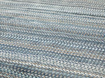 Modern Chic Şönil Kaydırmaz Taban Halı 80x300 Cm Lacivert