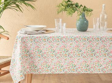 Colorful Flowers Polycotton Masa Örtüsü 150x220 Cm Renkli