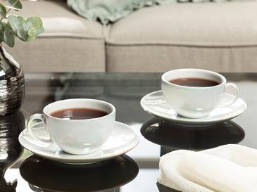 Dela Porselen 2'li Çay Fincanı Takımı 220 Ml Sedef