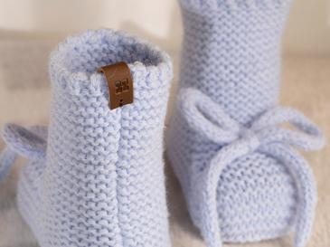 Natural Bebe Çorap 6-12 Ay Mavi