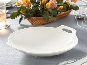 Arzu Sabancı Mila New Bone Salata Kasesi 26 Cm Beyaz