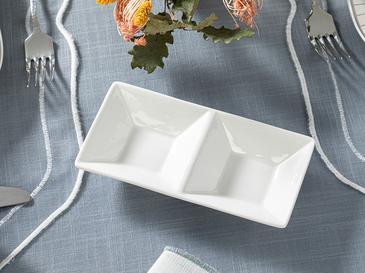 Arzu Sabancı Polin New Bone Sosluk 18x9 Cm Beyaz