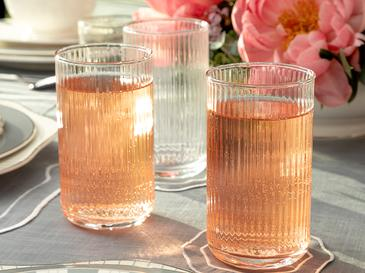 Arzu Sabancı Miamor Cam Meşrubat Bardağı 410 Ml Şeffaf