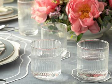 Arzu Sabancı Miamor Cam Meşrubat Bardağı 380 Ml Şeffaf