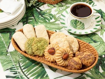 Arzu Sabancı Nude Rattan Ekmek Sepeti 12x28x5 Cm Açık Kahve