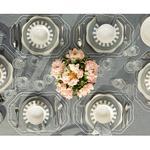 Arzu Sabancı Adora Polyester 4'lü Misafir Peçetesi 40x40 Cm Gri-beyaz