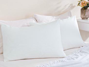 Düz Pamuklu 2'li Yastık Kılıfı 50x70 Cm Beyaz