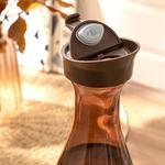Jaden Cam Kapaklı Şişe 1000 Ml Kahve