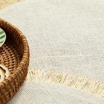 Arzu Sabancı Edna Jüt 2'li Amerikan Servis 38 Cm Beyaz