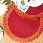 Arzu Sabancı Edna Jüt 2'li Amerikan Servis 38 Cm Kırmızı