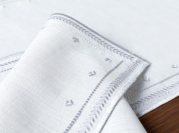 Kimmy Polyester 2'li Amerikan Servis 47x30 Cm Gri