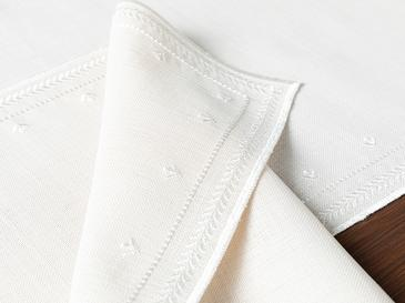 Kimmy Polyester 2'li Amerikan Servis 47x30 Cm Bej