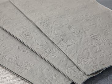 Allegro Kağıt 20'li Kağıt Peçete 33x40 Silver