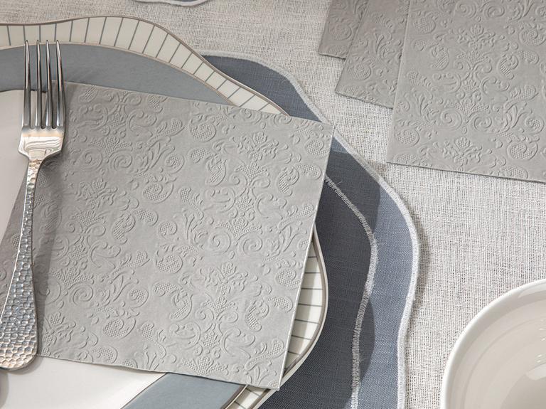 Allegro Kağıt 20'li Kağıt Peçete 33x33 Cm Silver